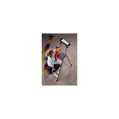 Aliuminės A tipo vienpusės kopėčios Double Decker ALTREX 5 pakopos